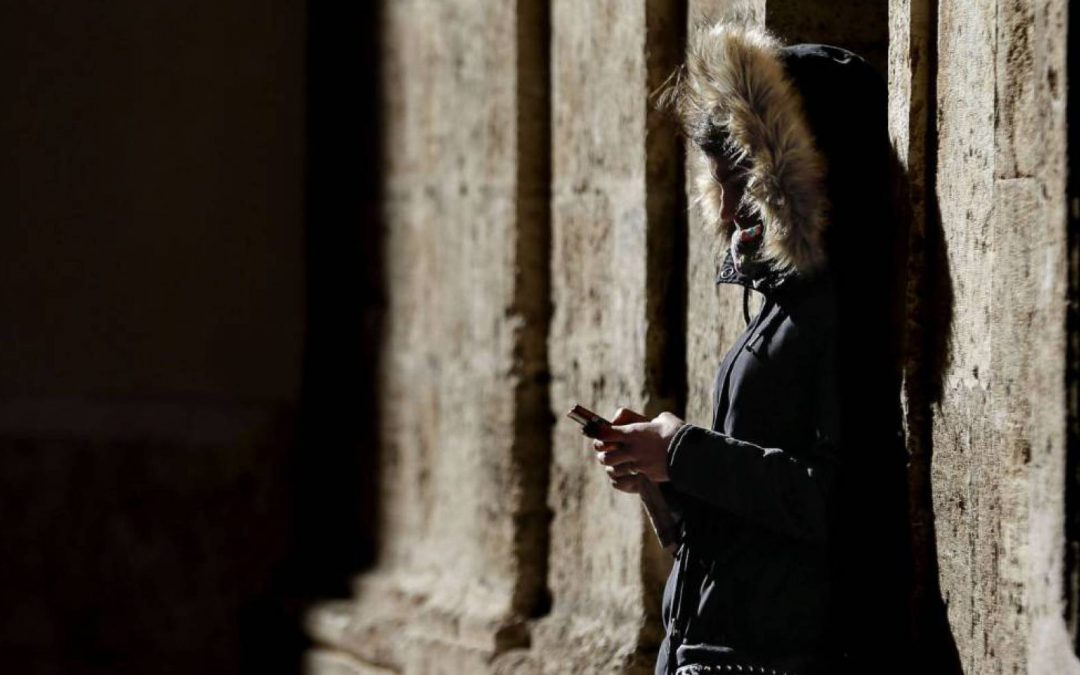 .El español se siente cada vez más vigilado en Internet.