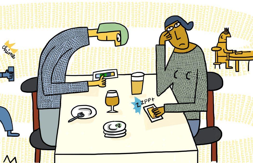 Amamos demasiado a los celulares: es momento de hablar sobre eso.
