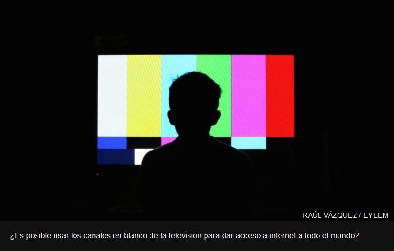 """Qué es el """"súper wifi"""" o cómo los canales sin usar de la televisión pueden ser la solución para llevar internet donde no hay."""