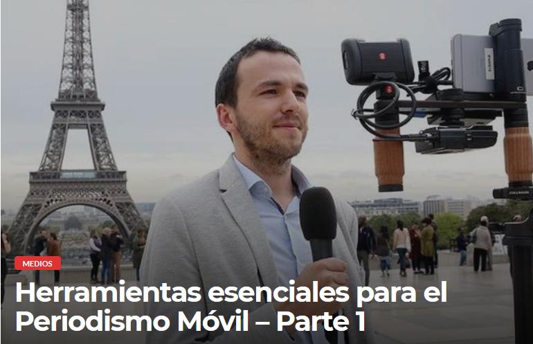 Periodismo Móvil (Mojo)