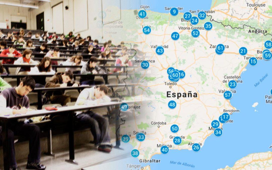 ¿Cuáles son las mejores universidades españolas?