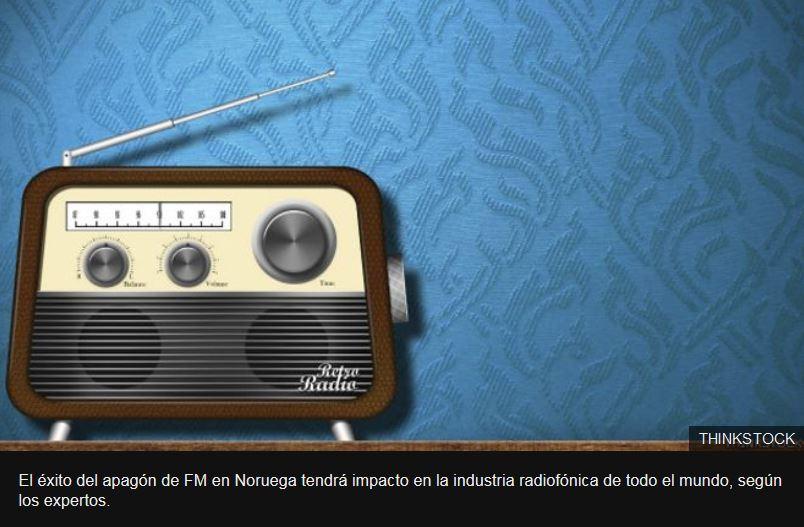 El fin de una era: Noruega, primer país del mundo en apagar su señal de FM.