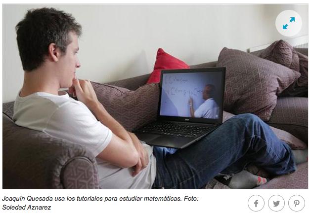 Profesores virtuales: furor por las clases particulares que se suben a Internet.