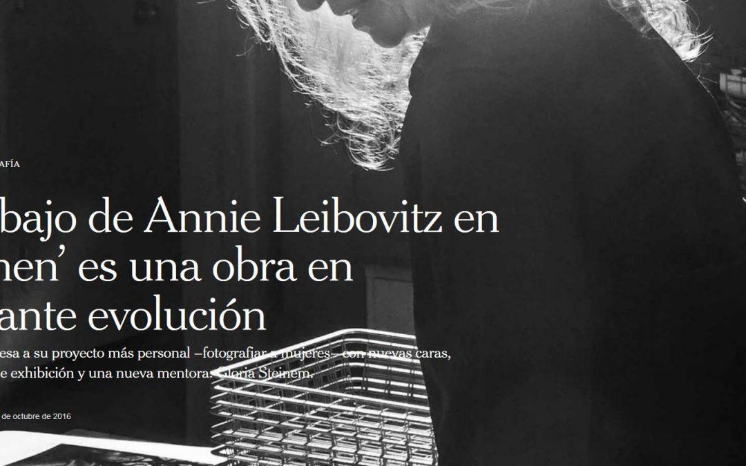 El trabajo de Annie Leibovitz en 'Women' es una obra en constante evolución.