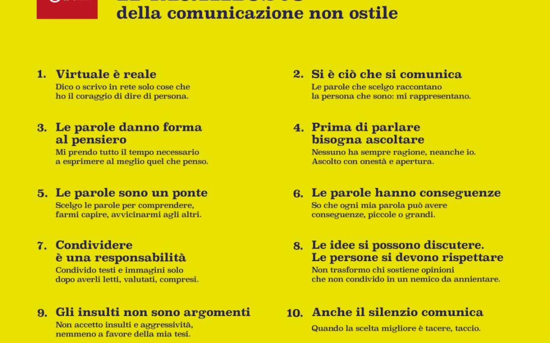 Decálogo para una COMUNICACIÓN no hostil